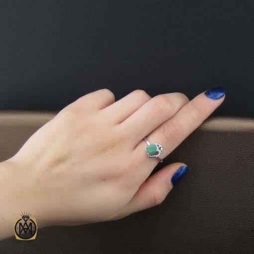 انگشتر زمرد زنانه اصل