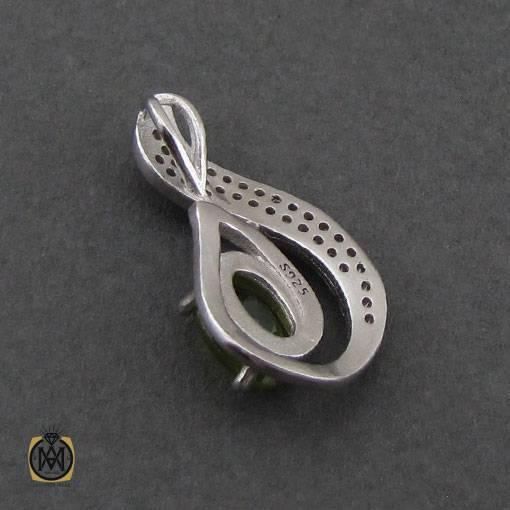 گدنبند مدال زبرجد زنانه