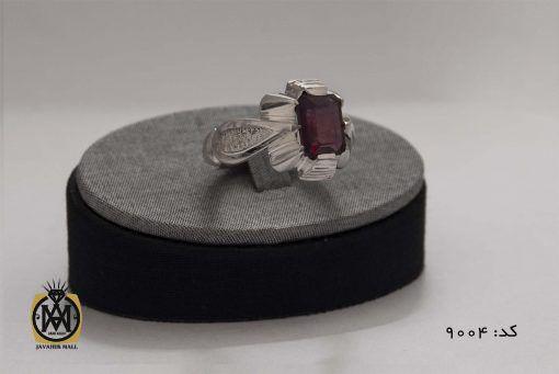 انگشتر یاقوت سرخ خوش رنگ مردانه هنر دست استاد شرفیان - کد 8004 - 2b 1 510x341