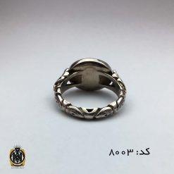 انگشتر عقیق یمن سفید با حکاکی هو الحی القیوم هنر استاد حیدر مردانه - کد 8003 - IMG 7055 247x247