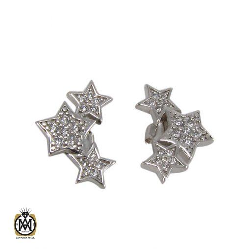 گوشواره نقره زنانه طرح ستاره – کد ۵۰۱۹
