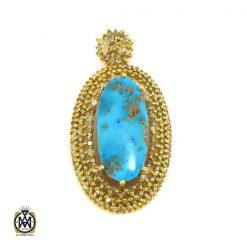 مدال فیروزه نیشابوری و الماس زنانه