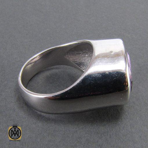 انگشتر آمتیست زنانه طرح گیسو - کد 2055 - 2 121 510x510