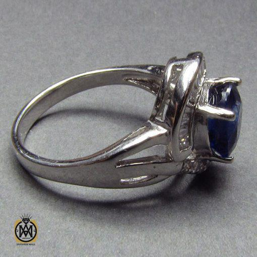انگشتر یاقوت کبود طرح شبنم زنانه -کد 2002 - 2 69 510x510