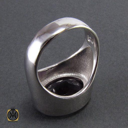 انگشتر آمتیست زنانه طرح گیسو - کد 2055 - 3 124 510x510