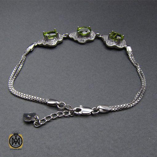 دستبند زبرجد زنانه طرح پریسا – کد ۱۰۲۰