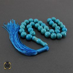 تسبیح فیروزه تبتی 33 دانه گرد - کد 4032 - 3 330 247x247