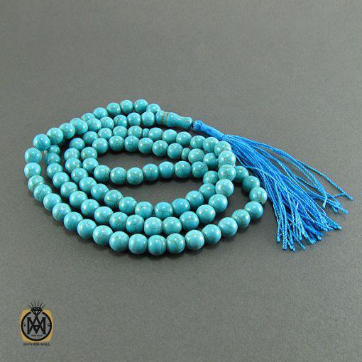 تسبیح فیروزه تبتی 101 دانه - کد 4058 - 3 331 510x510