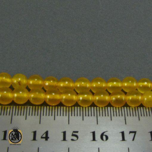 تسبیح جید زرد شرف الشمس ۱۰۱ دانه – کد ۴۰۵۰