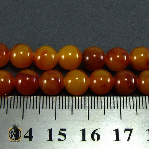 تسبیح کهربای پودری 101 دانه خوش نقش - کد 4064 - 4 337 510x510