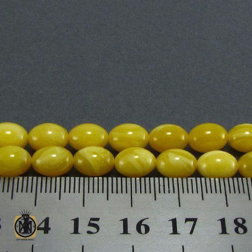 تسبیح کهربای پودری 33 دانه هلی - کد 4088