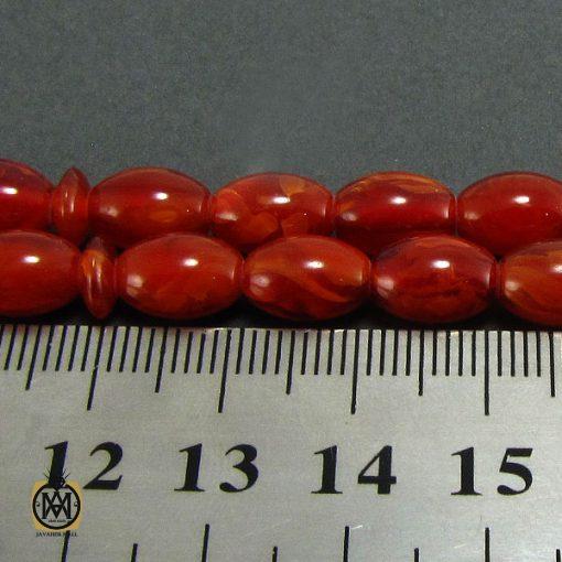 تسبیح کهربای پودری ۳۳ دانه هلی – کد ۴۰۸۹