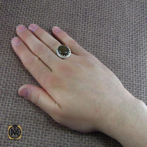 انگشتر کهربا مردانه - 8051 - 5 179 510x510