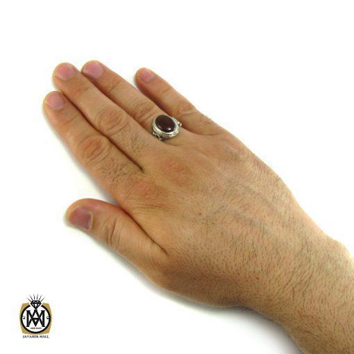 انگشتر عقیق یمن مردانه – کد ۸۱۶۴