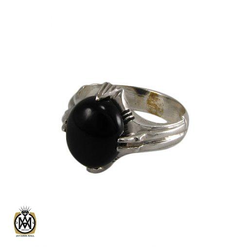 انگشتر عقیق سیاه مردانه – کد ۸۳۵۱