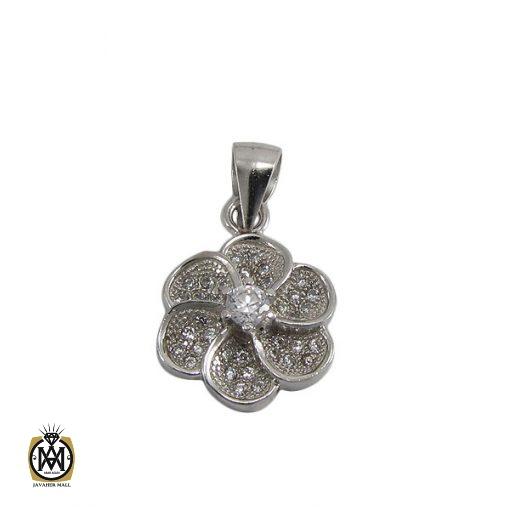 مدال نقره زنانه طرح مرجان – کد ۳۰۲۱