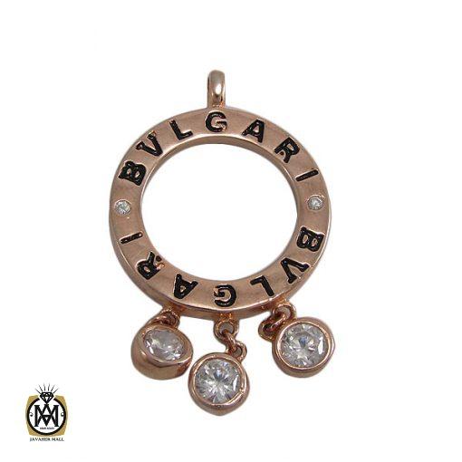 مدال نقره زنانه طرح بولگاری - کد 3042 - 1 293 510x510