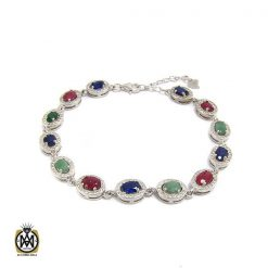دستبند یاقوت سرخ زنانه – کد 1009 - 1 69 247x247