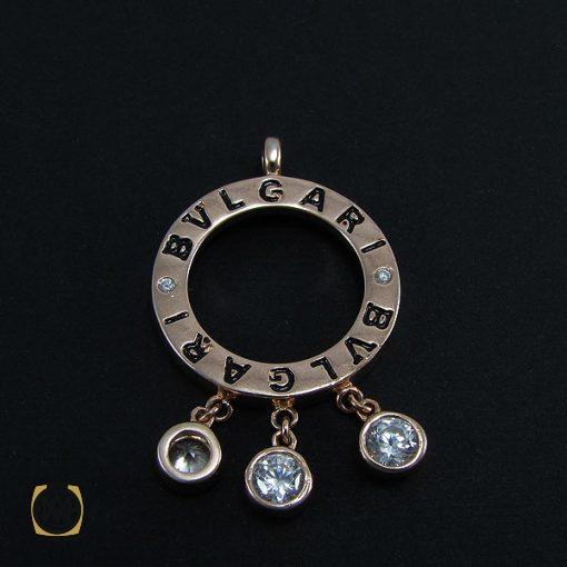 مدال نقره زنانه طرح بولگاری - کد 3042 - 2 291 510x510