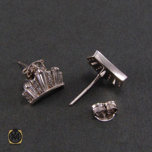 گوشواره نقره زنانه طرح ملکه – کد ۵۰۳۰