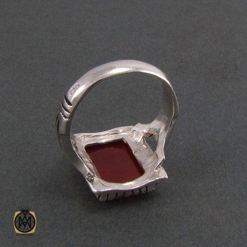 انگشتر عقیق قرمز مردانه – کد ۸۳۳۰