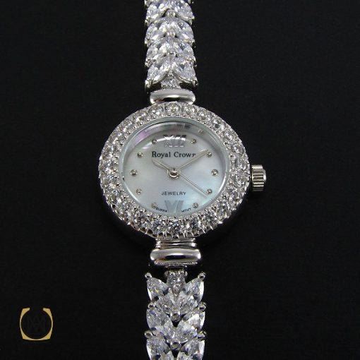 ساعت نقره زنانه رویال کرون – کد ۶۰۰۳