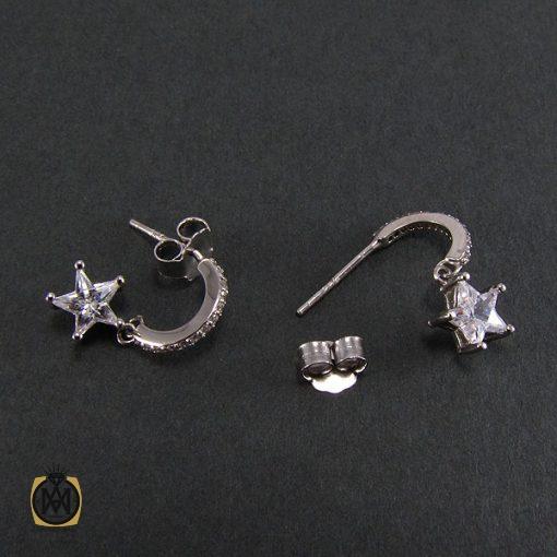 گوشواره نقره زنانه طرح ستاره - کد 5023 - 3 9 510x510