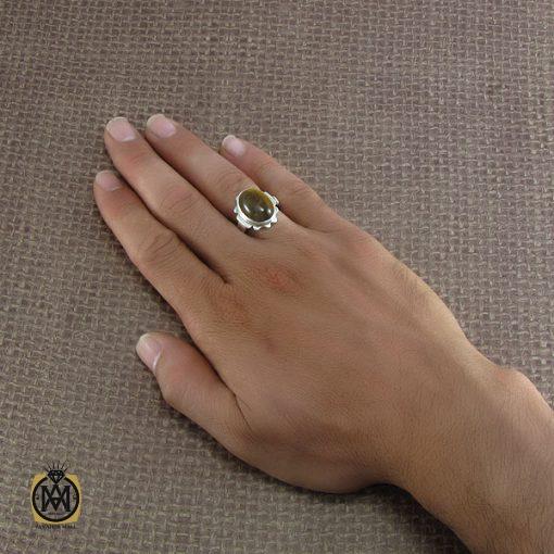 انگشتر چشم ببر مردانه – کد ۸۲۳۲
