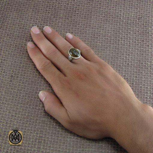 انگشتر چشم ببر اصل و معدنی مردانه - کد 8235 - 5 107 510x510