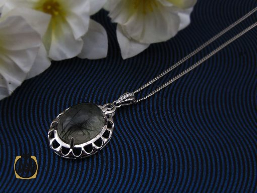 مدال کوارتز روتایل زنانه طرح شادی – کد ۳۱۱۲