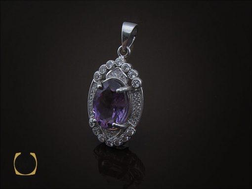 مدال آمتیست زنانه طرح نیایش- کد 3116 - 00 149 510x383