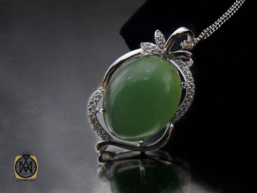 مدال یشم زنانه طرح پردیس – کد ۳۱۰۱