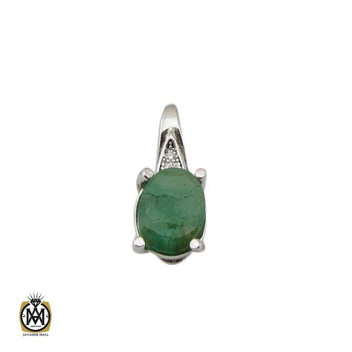 مدال زمرد اصل زنانه طرح آنیل – کد ۳۰۶۱
