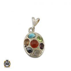 مدال زبرجد طرح شاپرک زنانه – کد ۳۲۷۸