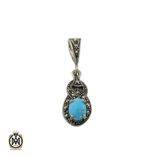 مدال فیروزه نیشابوری و مارکازیت زنانه طرح سونیا – کد ۳۰۸۹