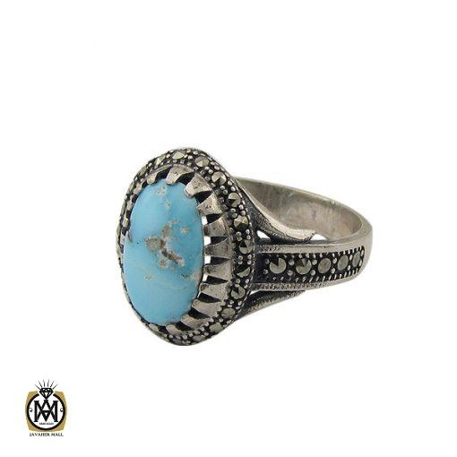 انگشتر فیروزه نیشابور زنانه طرح هستی - کد 2072 - 1 9 510x510