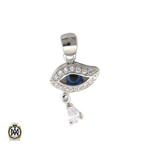 مدال نقره طرح چشم زخم زنانه – کد ۳۰۴۹