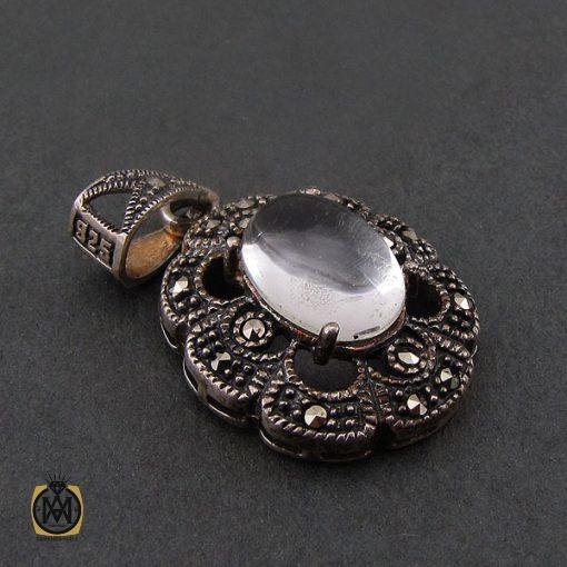 مدال دُر نجف زنانه طرح ارکیده - کد 3070 - 2 179 510x510