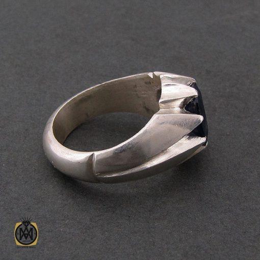 انگشتر یاقوت کبود آفریقایی اصل مردانه - کد 8437 - 2 227 510x510