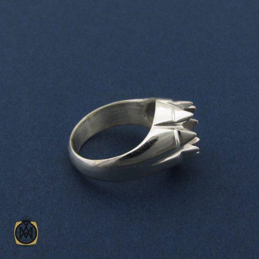 رکاب تک انگشتر مردانه دست ساز – کد 8458