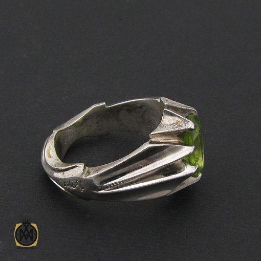 انگشتر زبرجد مردانه مرغوب و معدنی - کد 8550 - 2 422 510x510