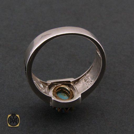 انگشتر فیروزه نیشابوری مردانه - کد 8390 - 3 104 510x510