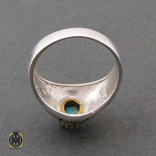 انگشتر فیروزه نیشابوری مردانه - کد 8393 - 3 107 510x510