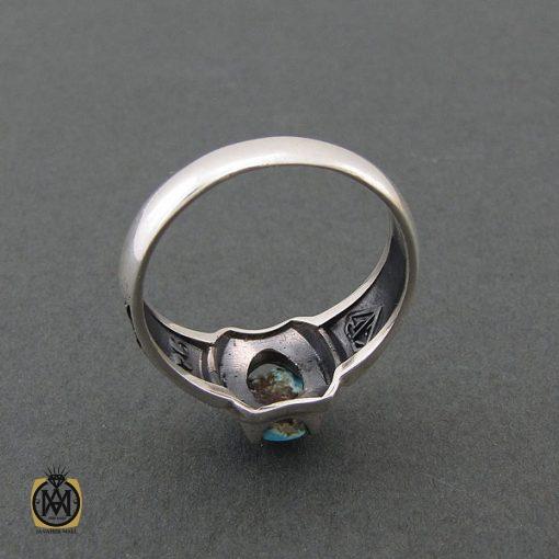 انگشتر فیروزه نیشابوری مردانه - کد 8397 - 3 111 510x510