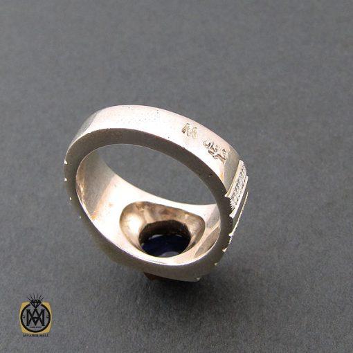 انگشتر یاقوت کبود استار مردانه - کد 8402 - 3 116 510x510