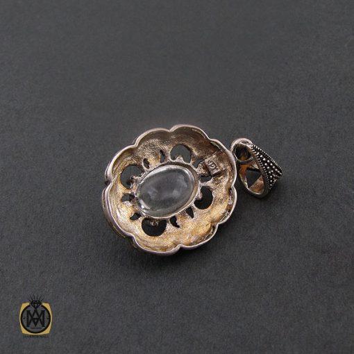 مدال دُر نجف زنانه طرح ارکیده - کد 3070 - 3 179 510x510