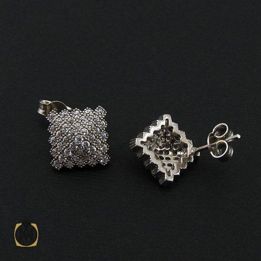 سرویس نقره زنانه طرح مهرناز - کد 7082