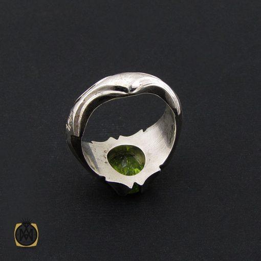 انگشتر زبرجد مردانه مرغوب و معدنی - کد 8550 - 3 422 510x510