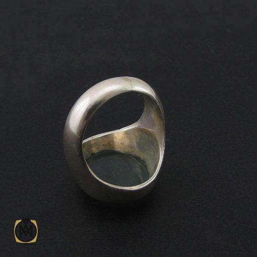 انگشتر آکوامارین مردانه درشت و معدنی - کد 8553 - 3 425 510x510