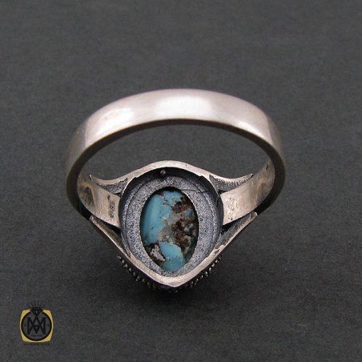 انگشتر فیروزه نیشابور زنانه طرح هستی - کد 2072 - 3 9 510x510